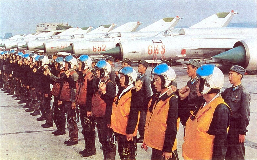 North Korean People's Army Air Force MiG-21MF Fishbed-J