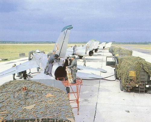Polish Tactical Air Force's Su-7 Fitters in the eighties