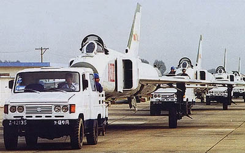 Chinese 1st Fighter Division's Shenyang J-8B Finback-B