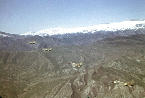 MiG-29 9.13 Fulcrum-C over the mountains