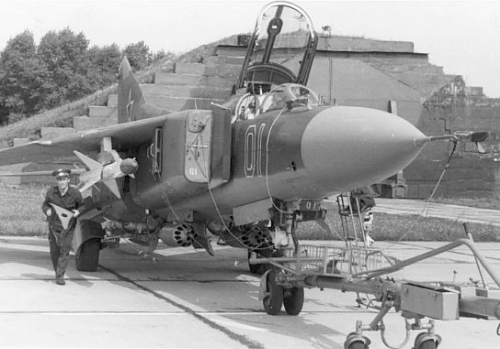 USSR MiG-27K FloggerJ2 in Easter-Germany. Source: www.jbg37.de