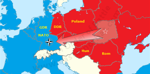 In the Cold War the local Soviet Armies was planned to be moved forward from the Carpathian Military District to become part of the Czechoslovak Front if war broke out between NATO and the Warsaw Pact