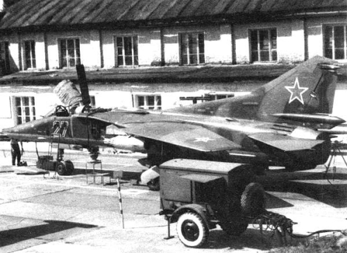 USSR MiG-27 Flogger-J2 at the Chortkov airport
