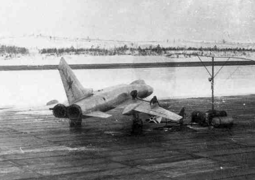 Soviet Tu-128 Fiddler and Su-9 Fishpot-A high speed interceptor at the Kilpajarv airport