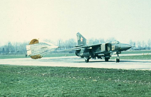 The MiG-23M Flogger-B as a bomber.