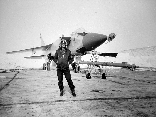USSR MiG-31 Foxhound at Norilsk airport