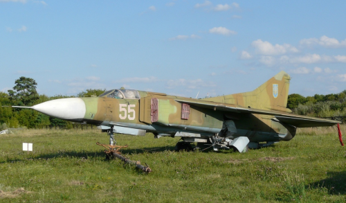 Ukrainian MiG-23 Etalon, 1971 Model, Photo: Medvedenko Oleg