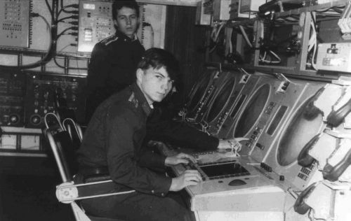 Soviet air traffic control training in Vorosilovgrad