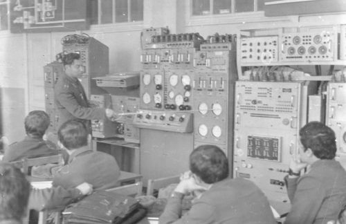 Soviet air navigator training in Vorosilovgrad