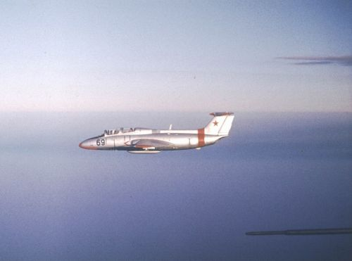228th Training Air Regiment's L-29 Delfin