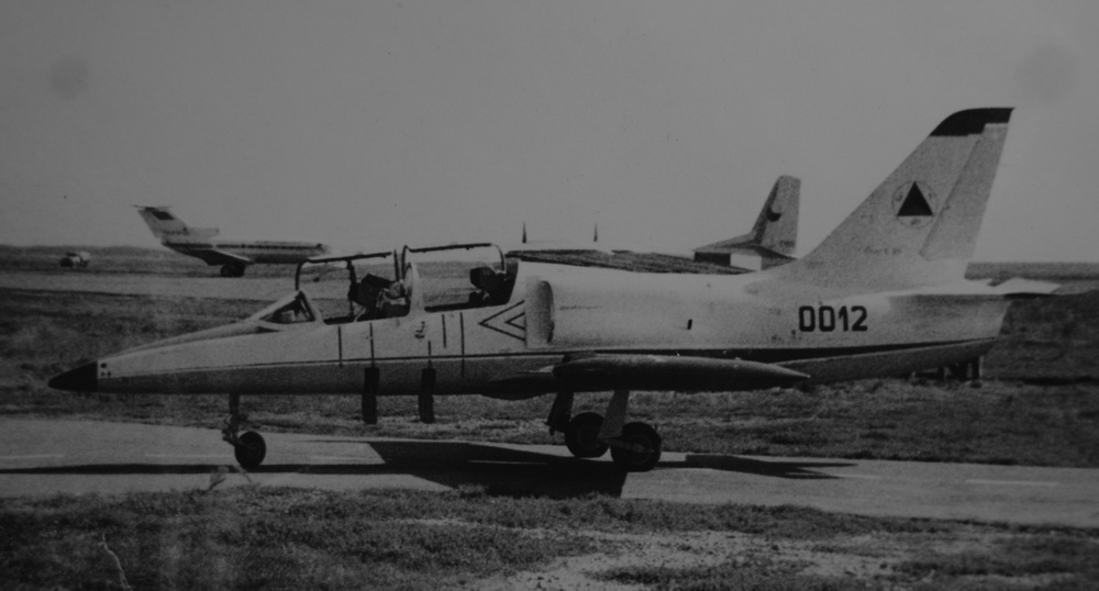 Afghan Air Force L-39C Albatros in Czechoslovakia