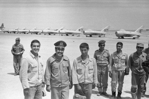 Afghan Air Force MiG-17 Fresco-A Mazar-i-Sharif
