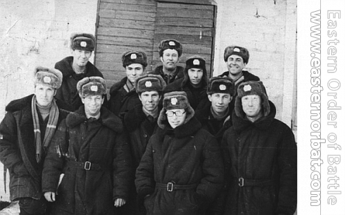 Soviet Air Force 27th Guard Fighter Air Regiment 2nd sqadron's crews in 1974